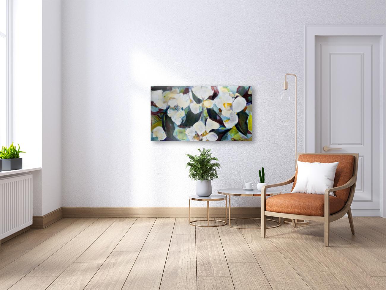 Louisiana Cubist Magnolia  Art