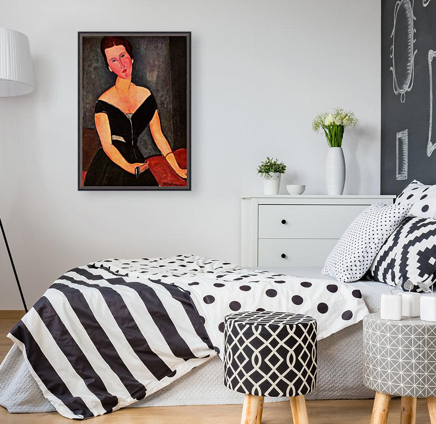Modigliani - Portrait of Mrs van Muyden  Art