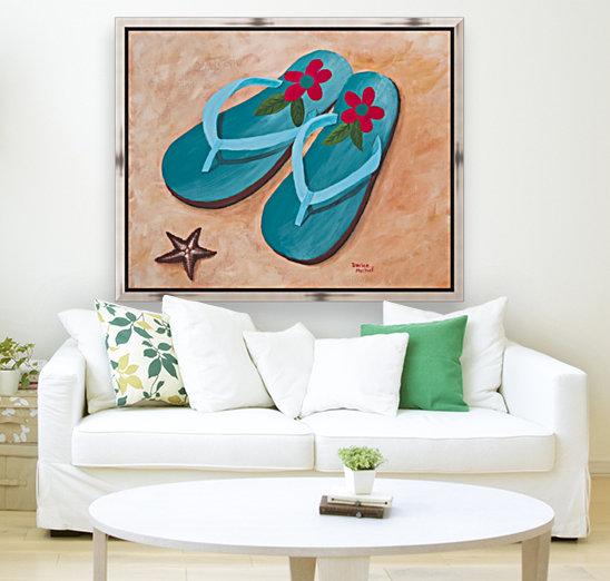 Flip Flops  Art