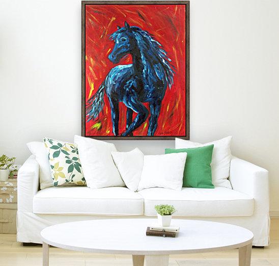 red horse  Art