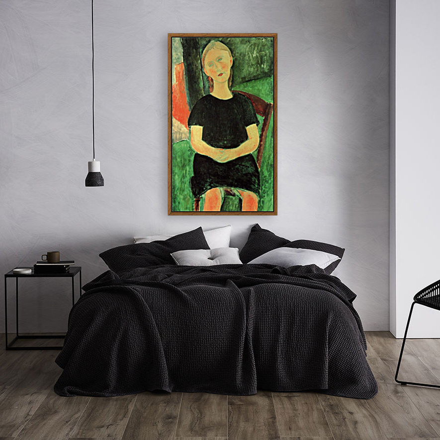 Modigliani - Sitting girl  Art