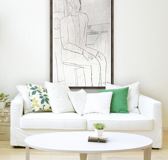 Modigliani - Sitting man  Art