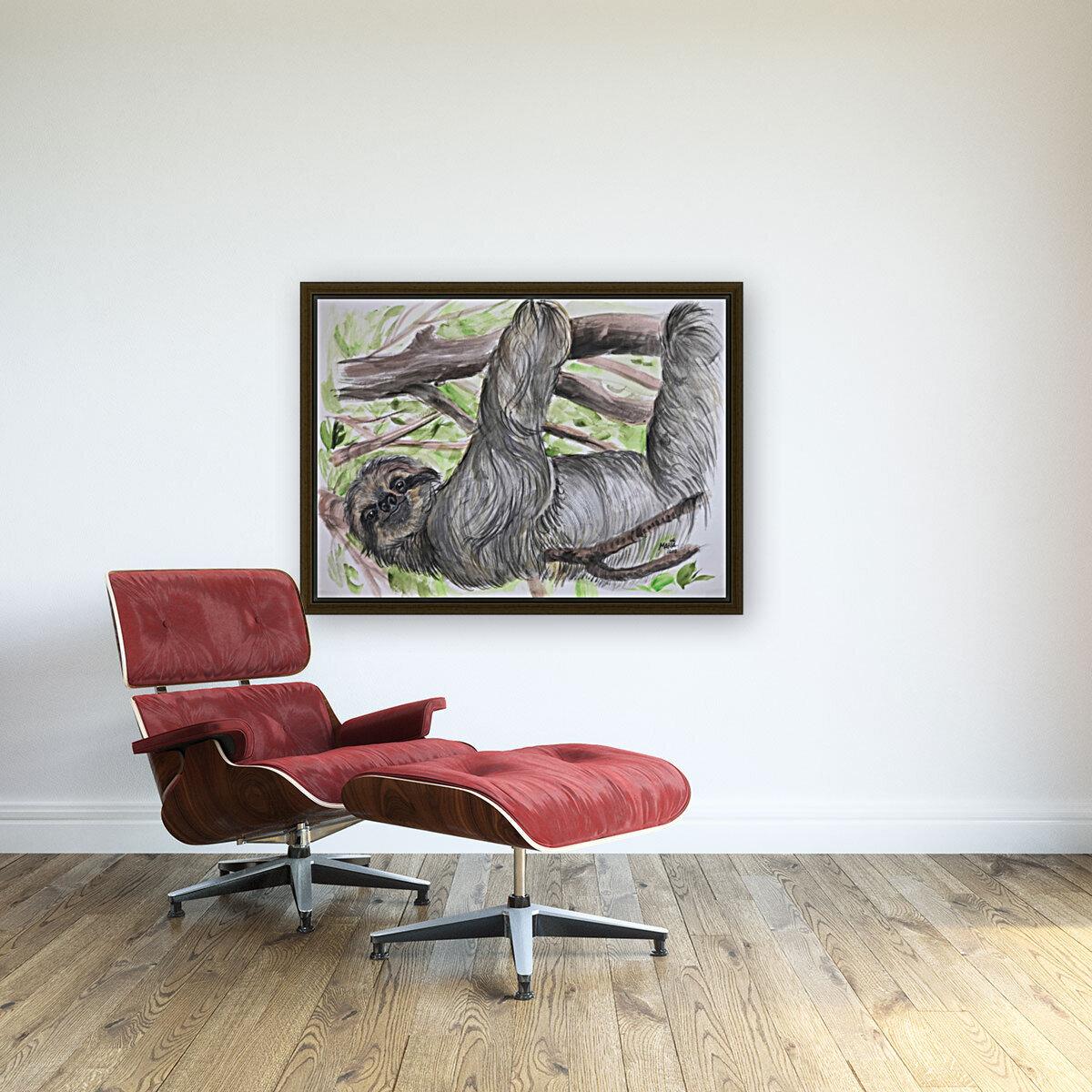 Collection COSTA RICA-Sloth  Art