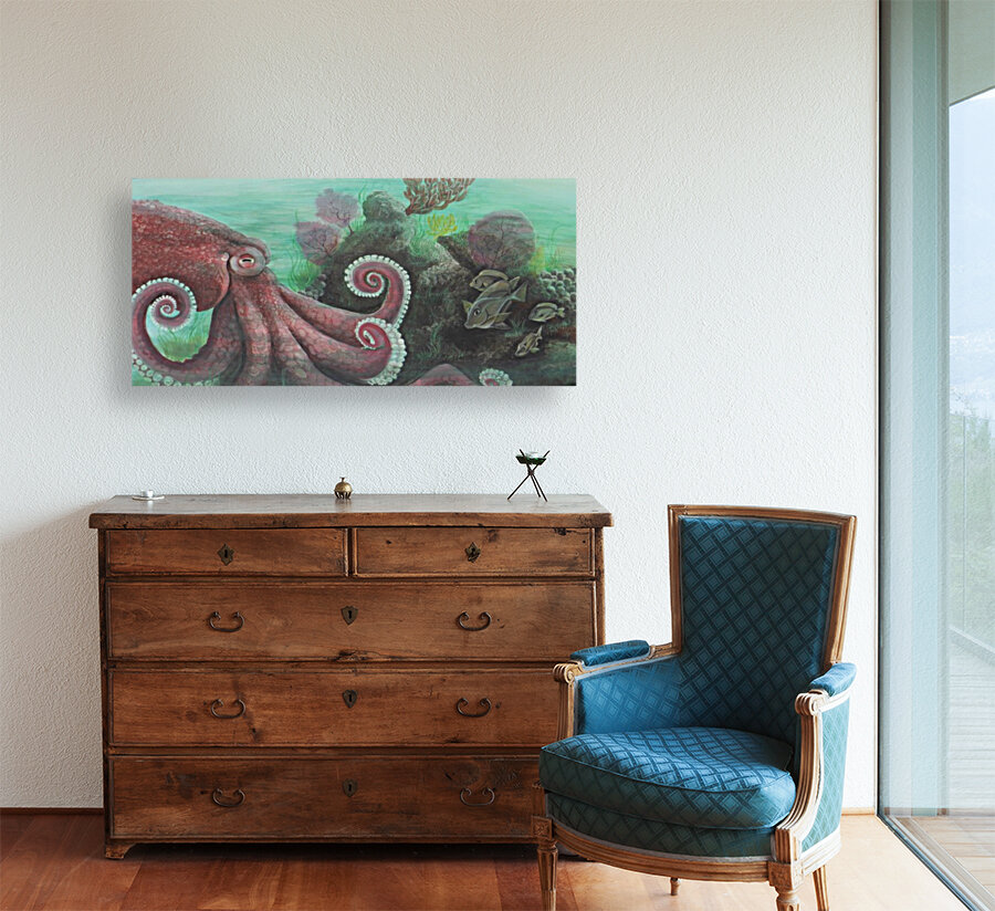 Collection WAVES-Octopus  Art
