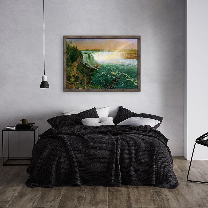 Niagra Falls by Bierstadt  Art
