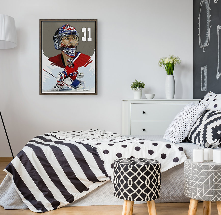Carey Price portrait  Art