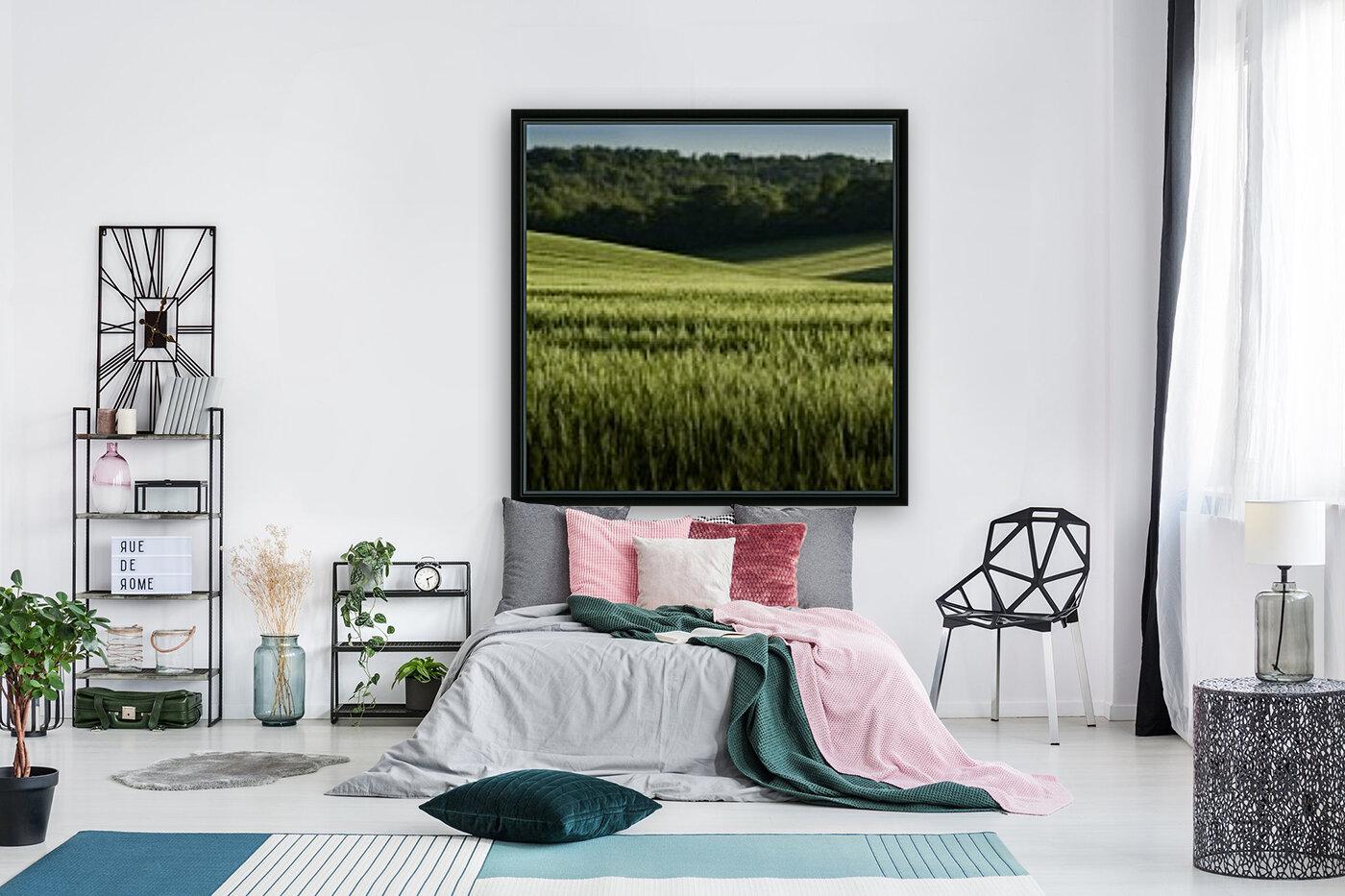 Wheat Fields  Art