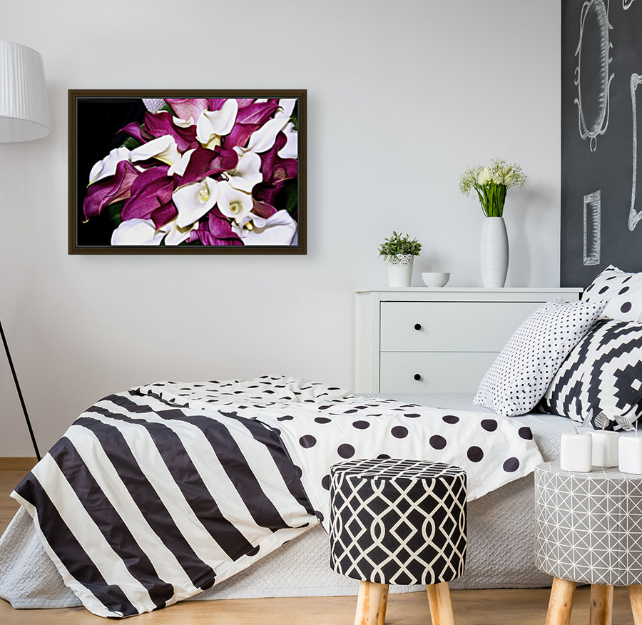 ORCHIDS with Floating Frame