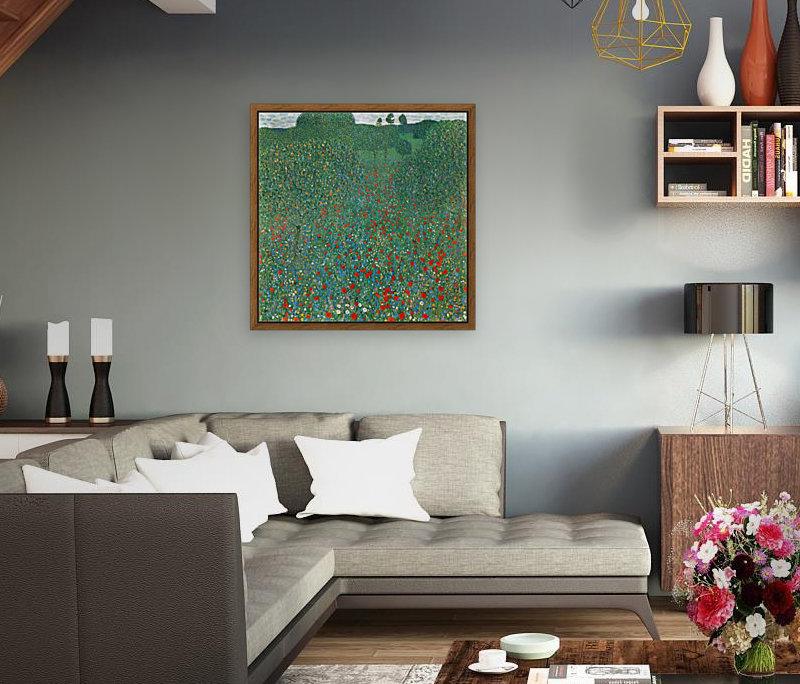 Poppy Field by Klimt  Art