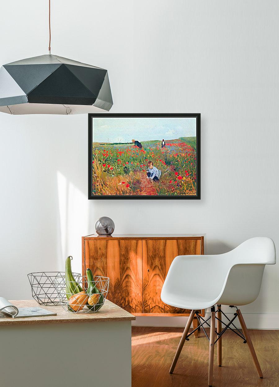 Poppy in the field by Cassatt  Art