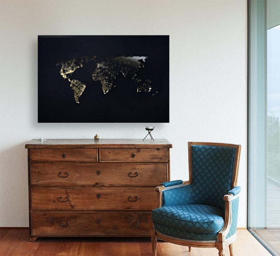 Dark Continent Heron  Art