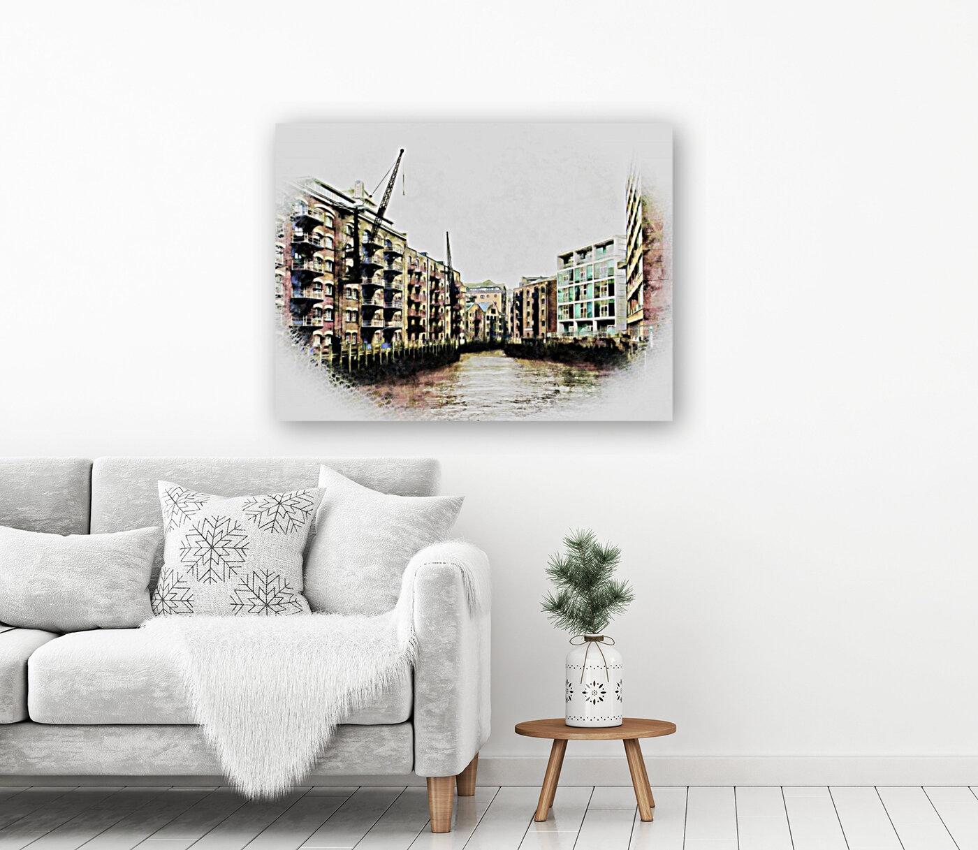 St Saviours Dock Bermondsey  Art