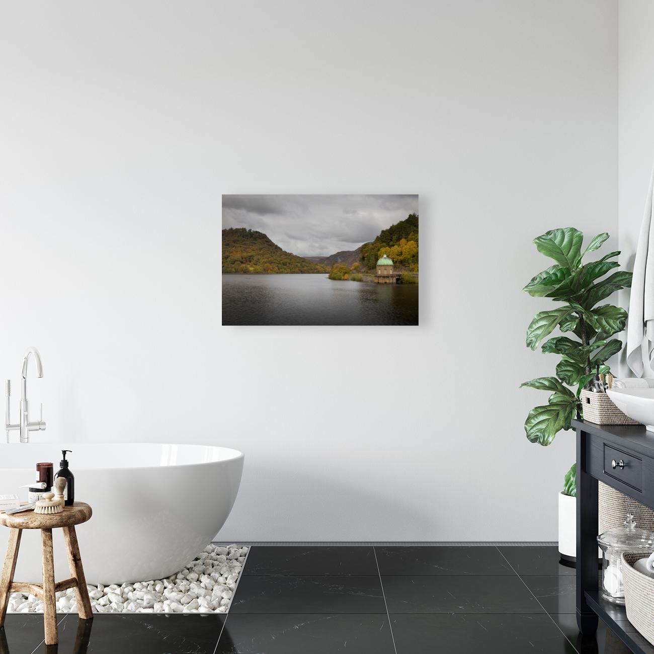 The Carreg Ddu reservoir  Art