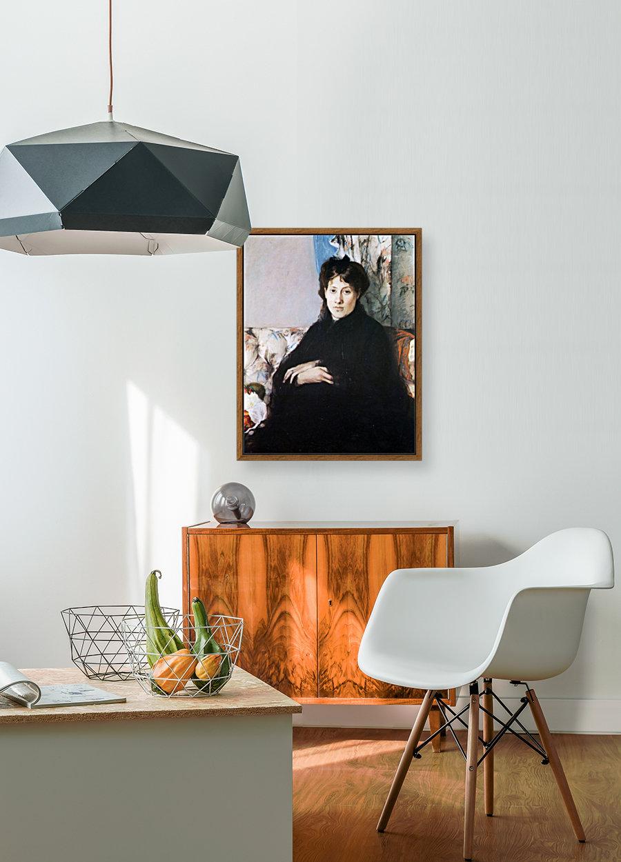 Portrait of Madame Pontillon  Art