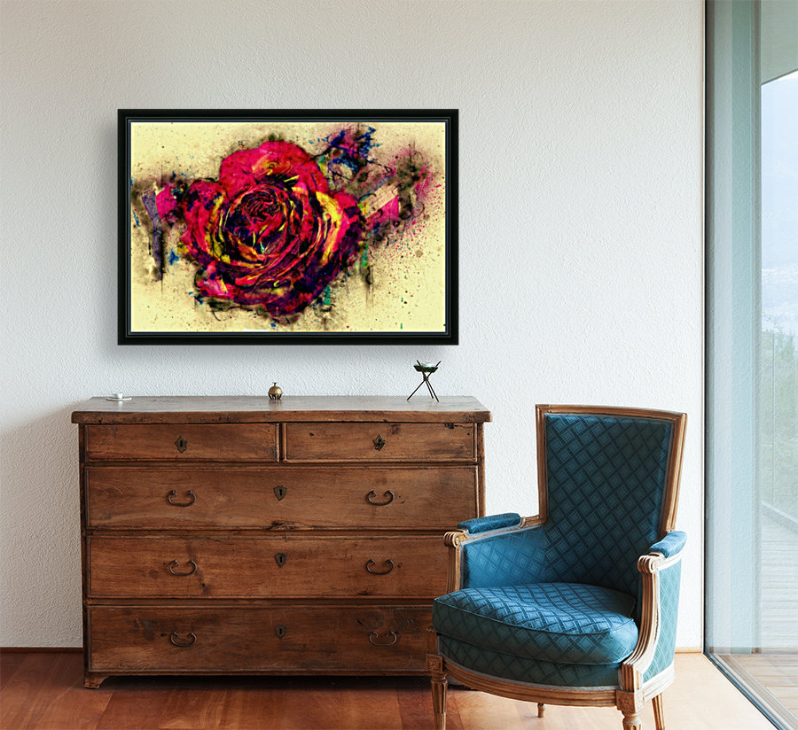 abstract rose  Art