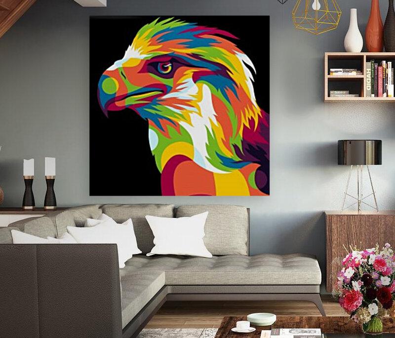 Philippine Eagle Illustration  Art