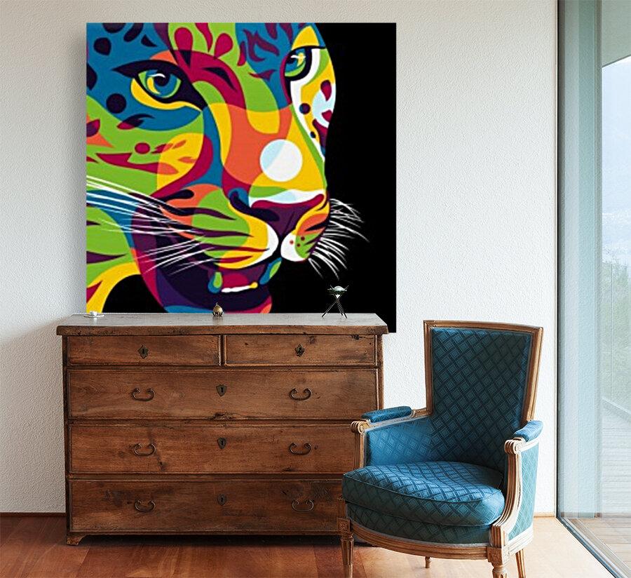 The Jaguar Gaze  Art