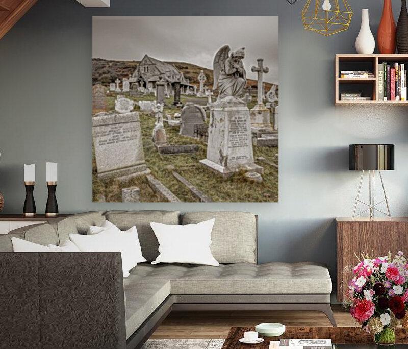 Cemetery in Llandudno, North Wales  Art