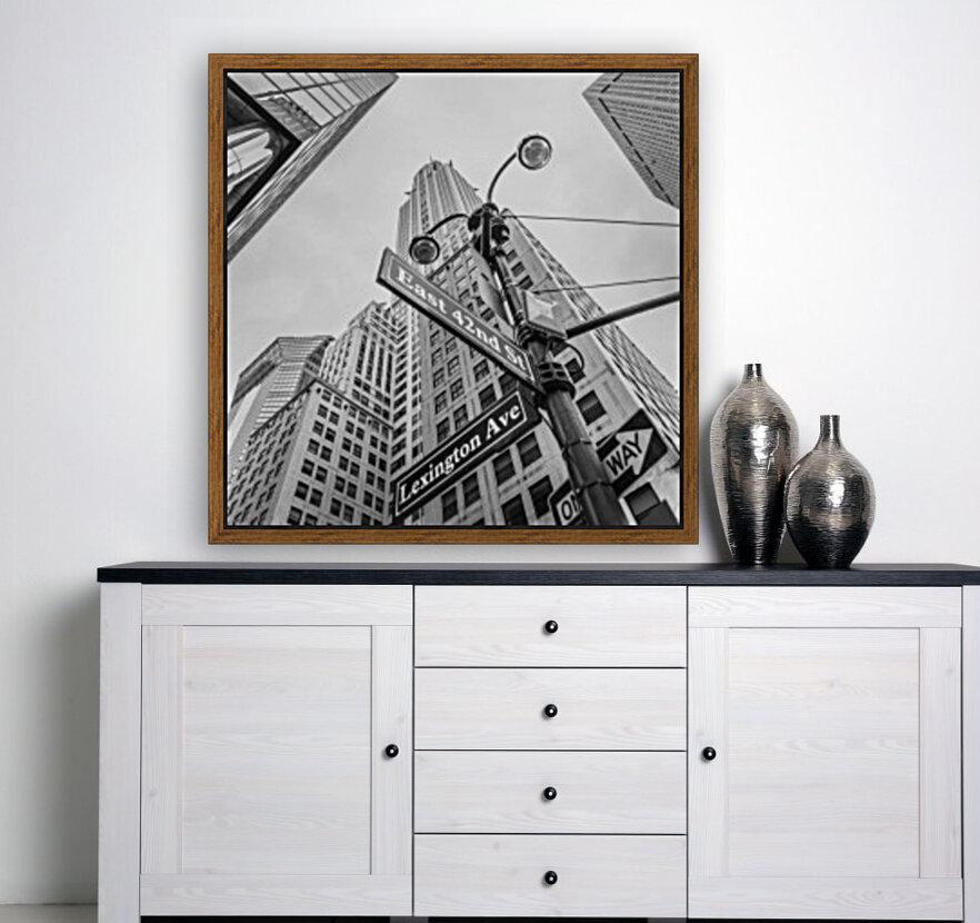 Chrysler Building in New York city  Art