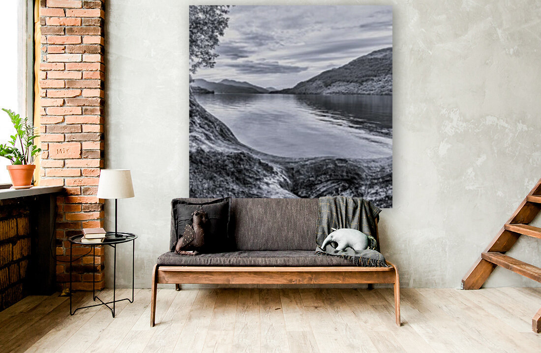 Scottish Loch  Art