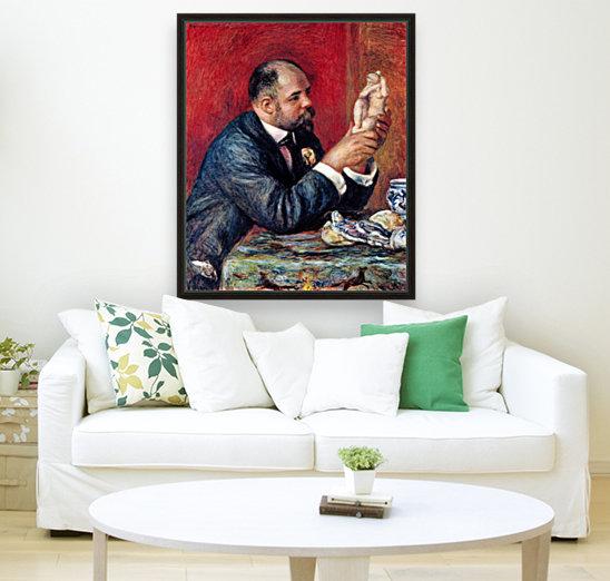 Portrait of Vollard by Renoir  Art
