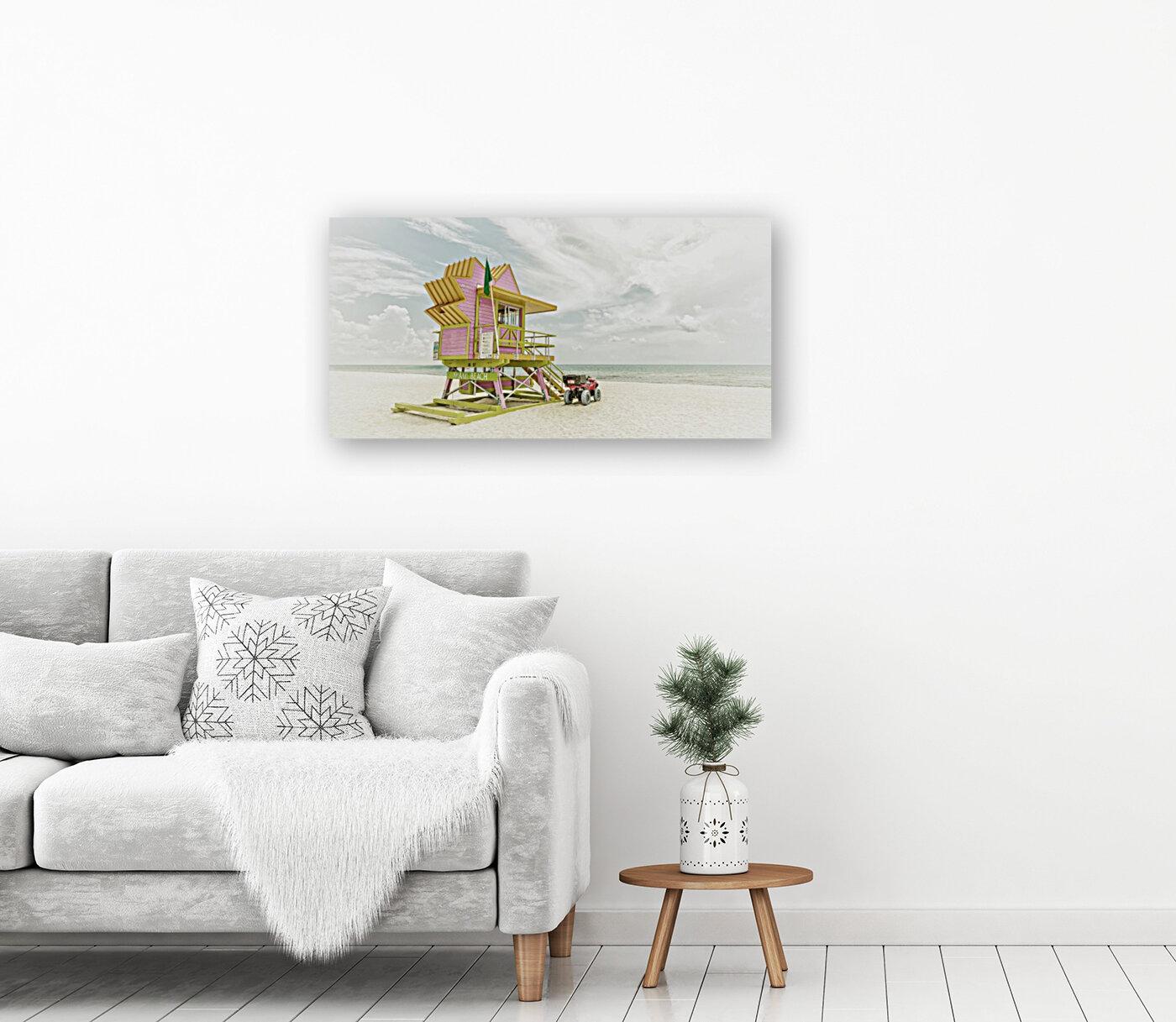 MIAMI BEACH Florida Flair | Vintage Panorama  Art