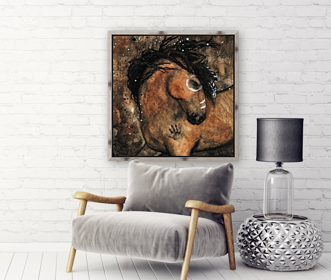 Spirit of Ancestors Horse  Art