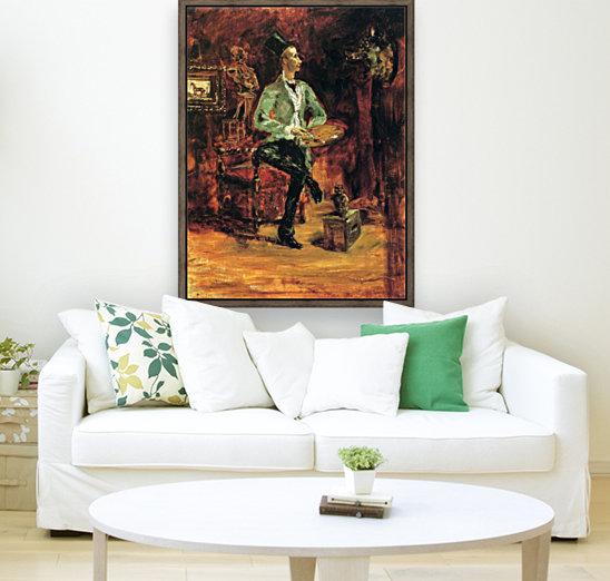 Princeteau in his studio by Toulouse-Lautrec  Art