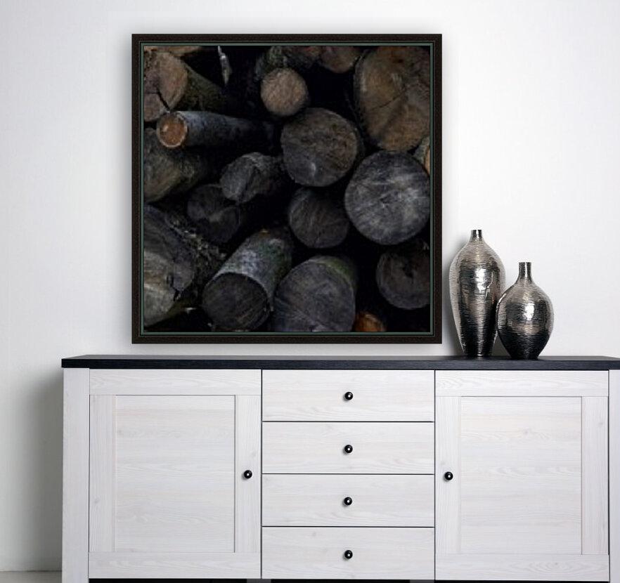 Log Pile  Art