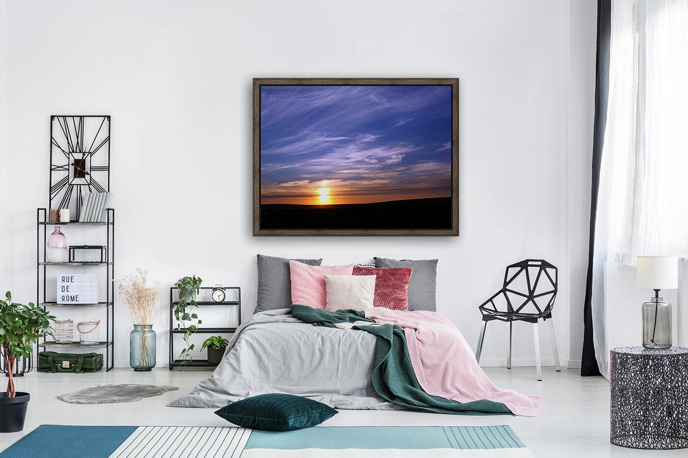 Montana   Sunset  Art