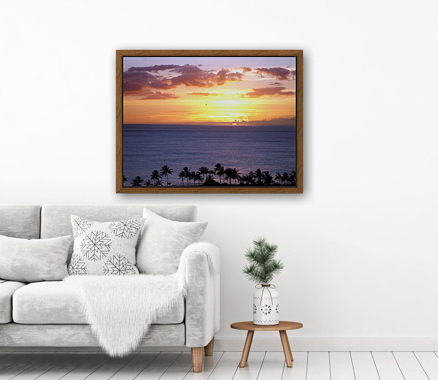Golden Hawaii  Art