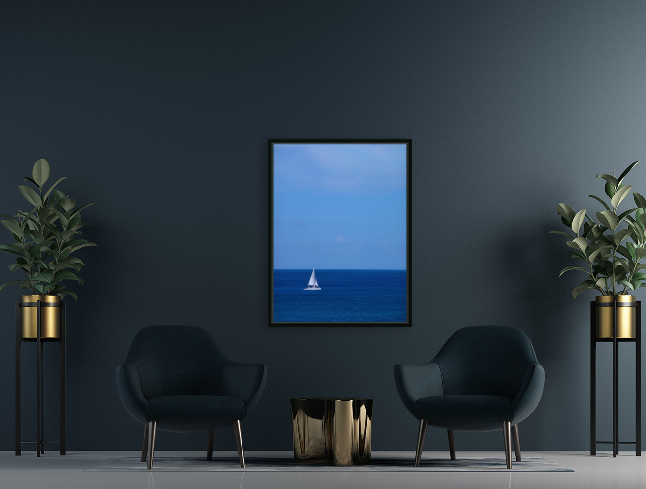 Blue Day - Gallery Artwork of the Year 2017 - Minimalism  Art