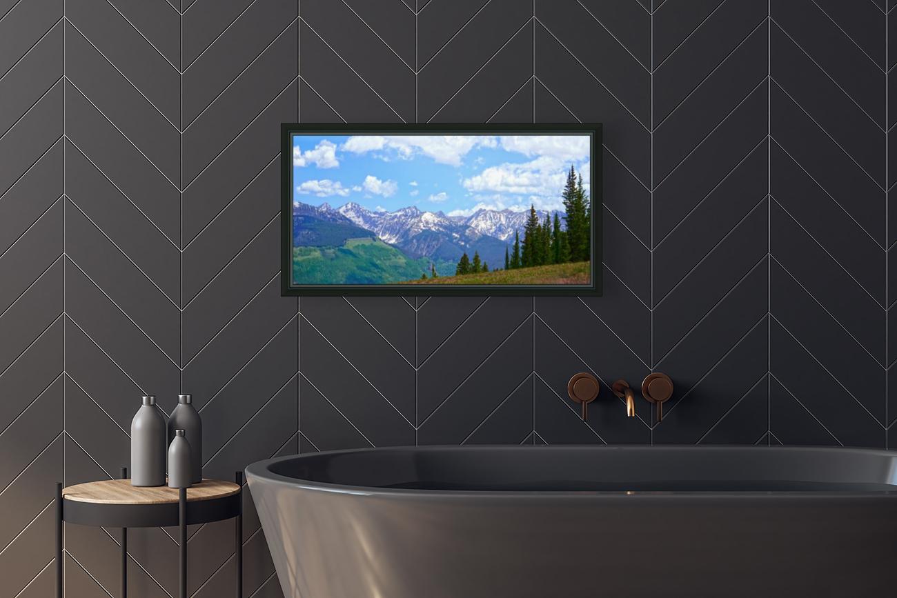 Rocky Mountain High Colorado Panorama   Art