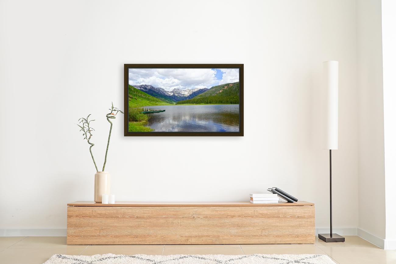 Rocky Mountain Reflections  Art