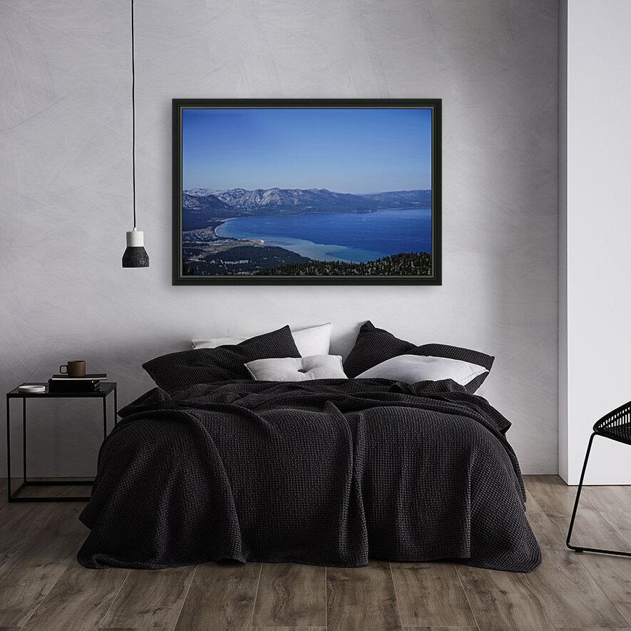 Lake Tahoe View - Tahoe California USA  Art