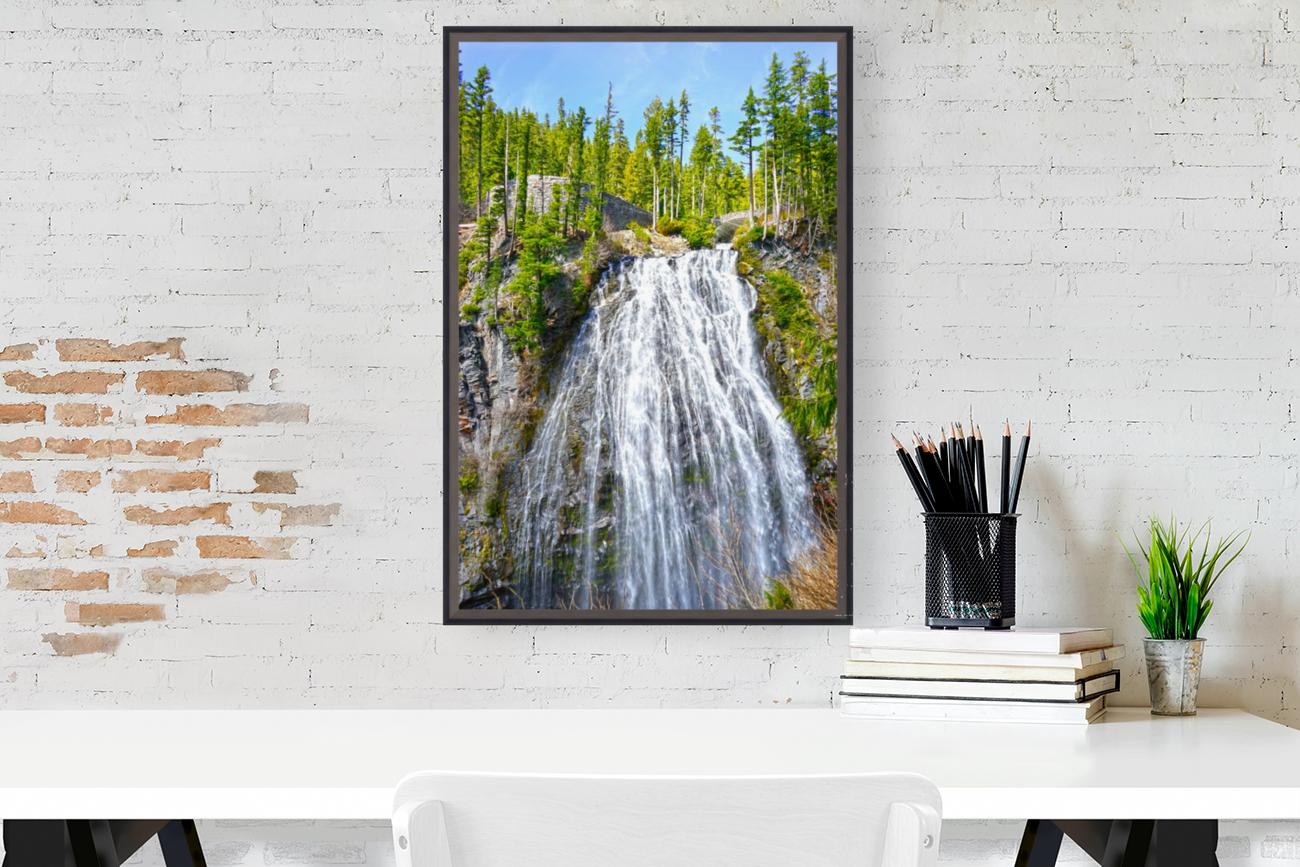 Northwest Waterfall  Art