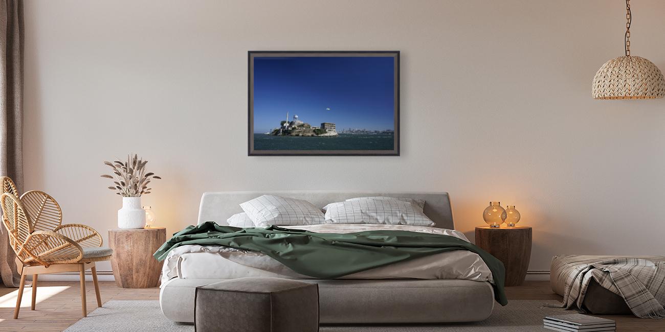 Alcatraz   The Rock @ San Francisco Bay  Art