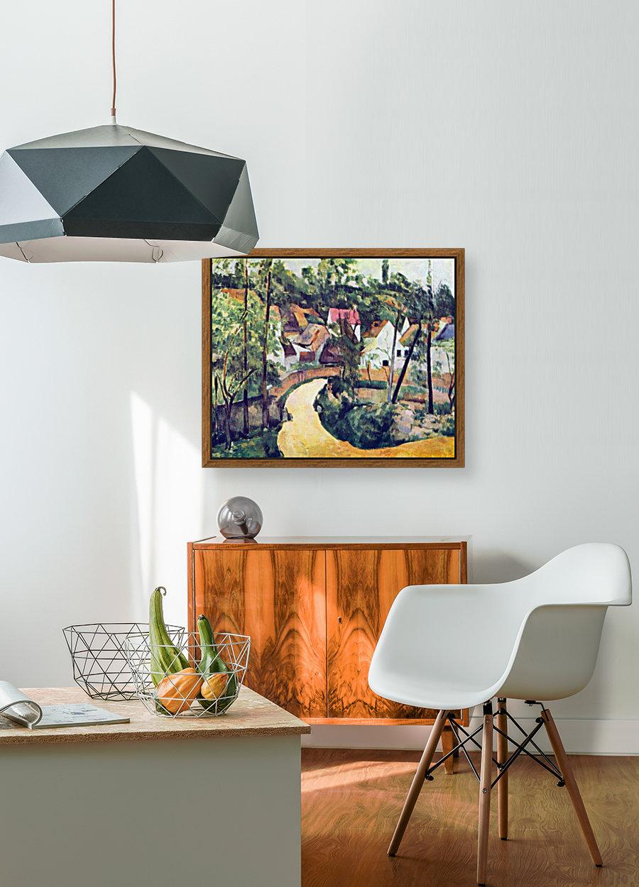 Road bend by Cezanne  Art