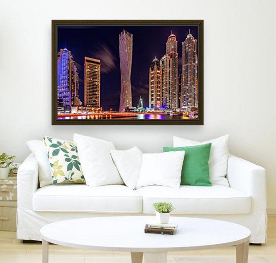 Dubai Marina Night Shot  Art