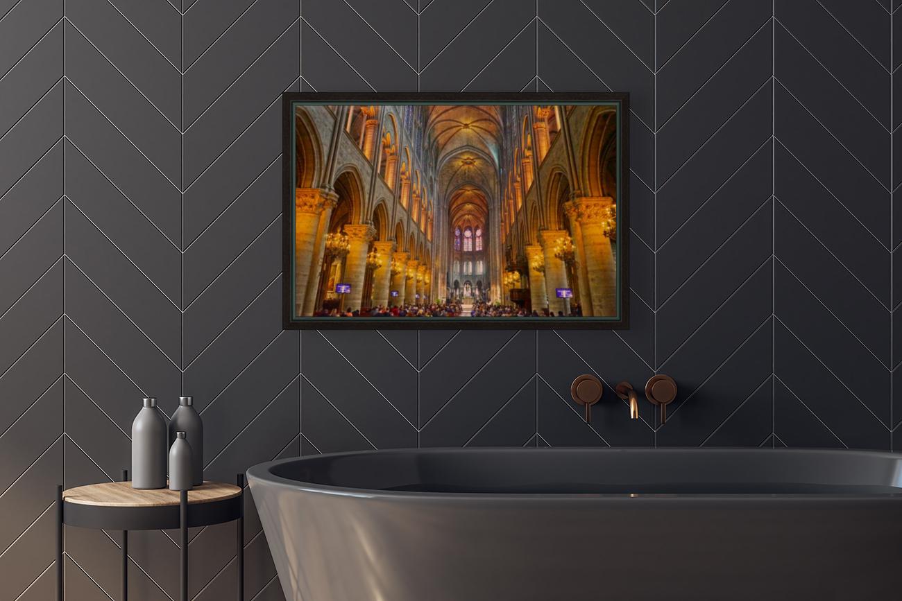 Saint Croix Cathedral France  Art