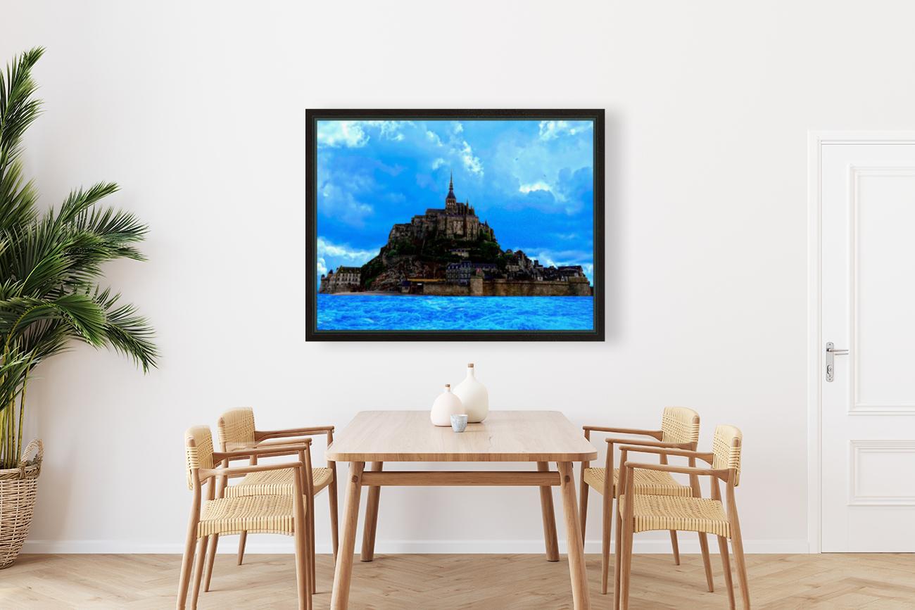 Mont St Michel Panorama  Art