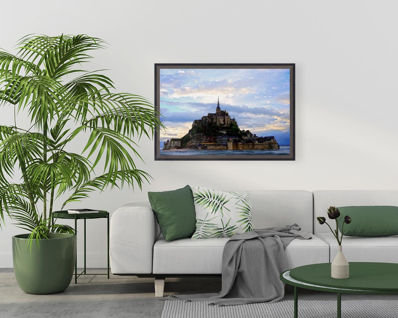 Mont St Michael Rising Tide - France  Art
