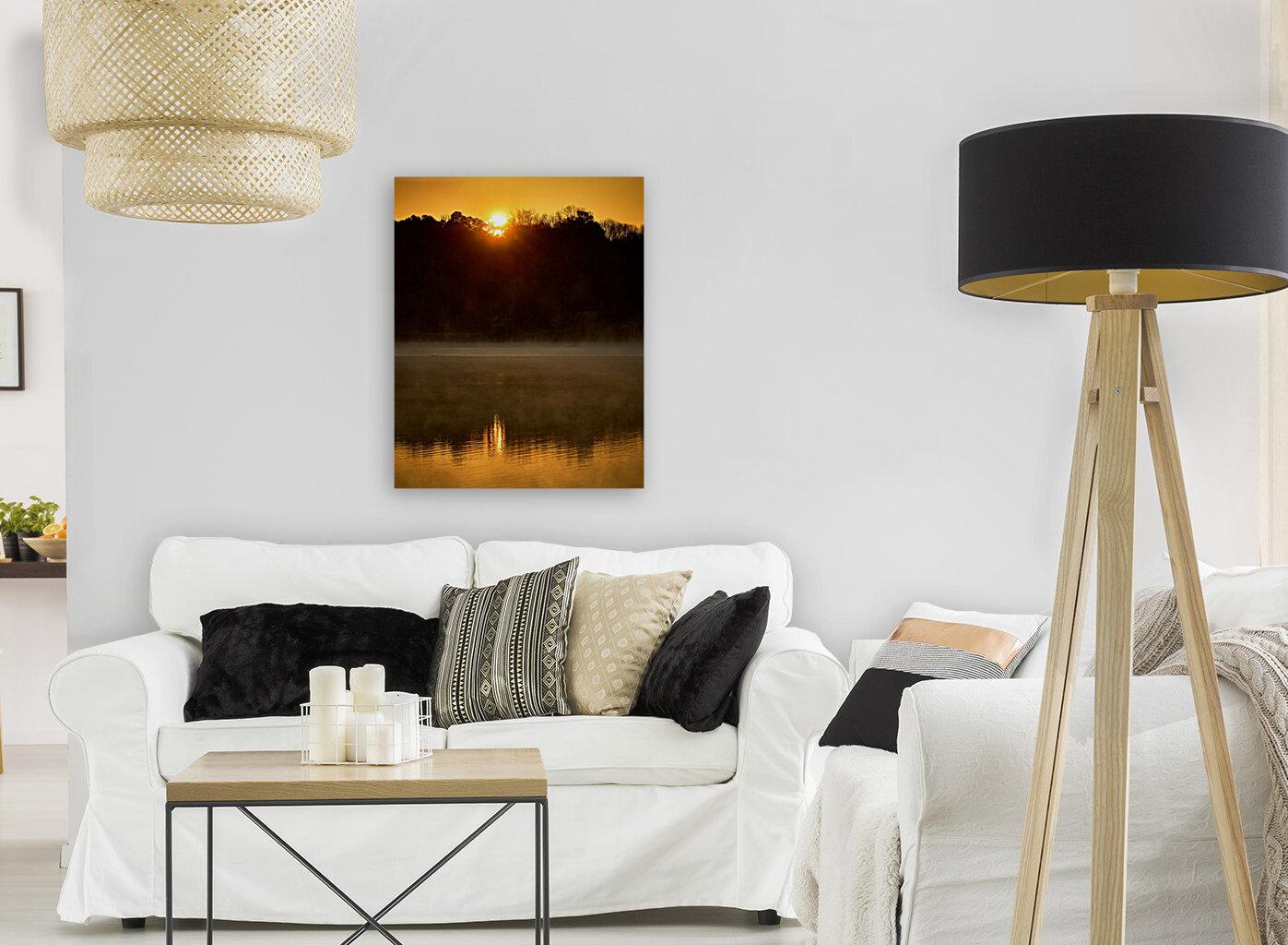Sunrise at Langley Pond Park   Aiken SC 7R301617 12 19 20  Art