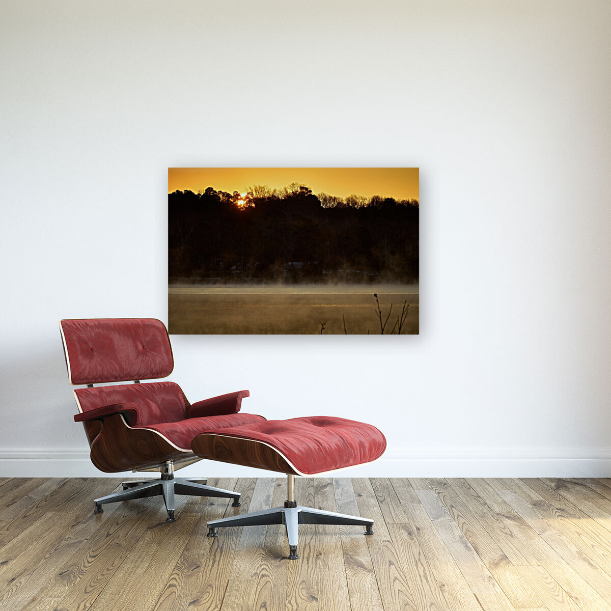 Sunrise at Langley Pond Park   Aiken SC 7R301610 12 19 20  Art