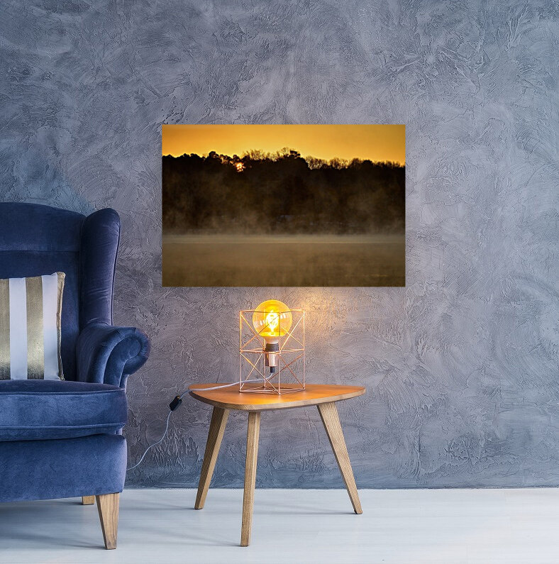 Sunrise at Langley Pond Park   Aiken SC 7R301594 12 19 20  Art