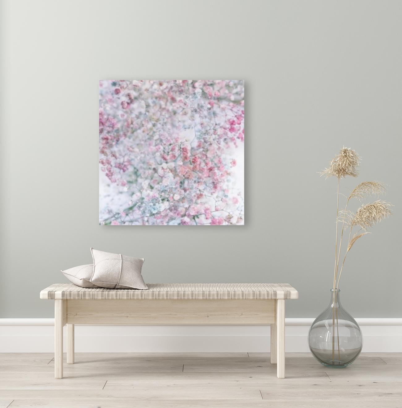 Daltana Pastel Floral Dianola  Art