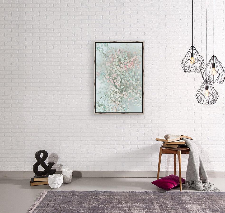 Daltana Pastel Floral Bina  Art