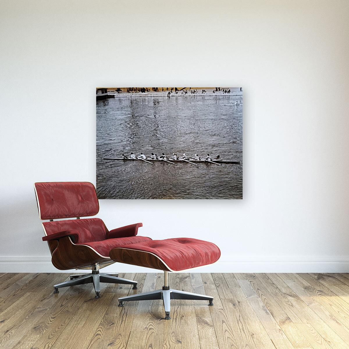 Paris Rowing 1975   2  Art