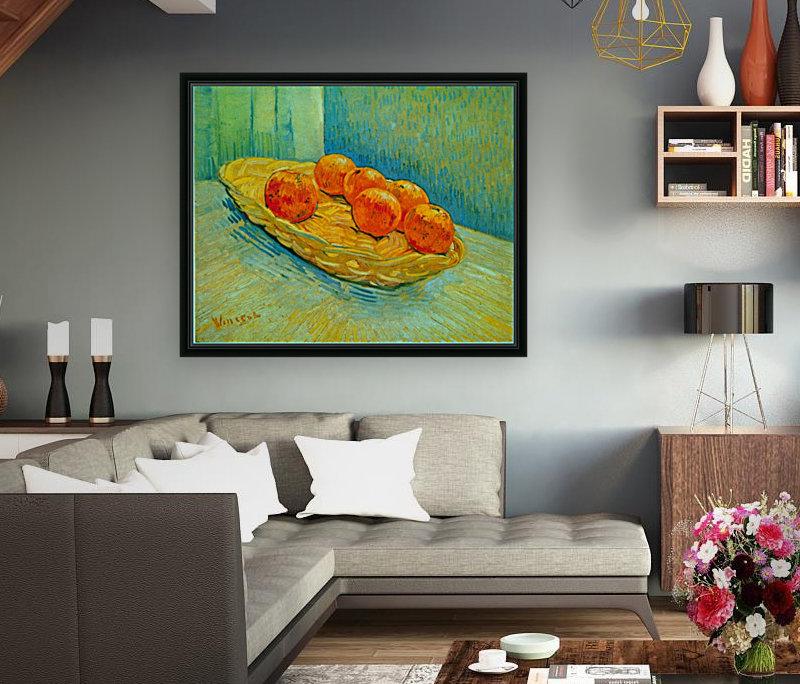 Six Oranges by Van Gogh  Art