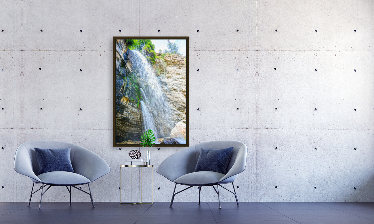 Rocky Mountain Rapids and Waterfalls 5 of 8  Art